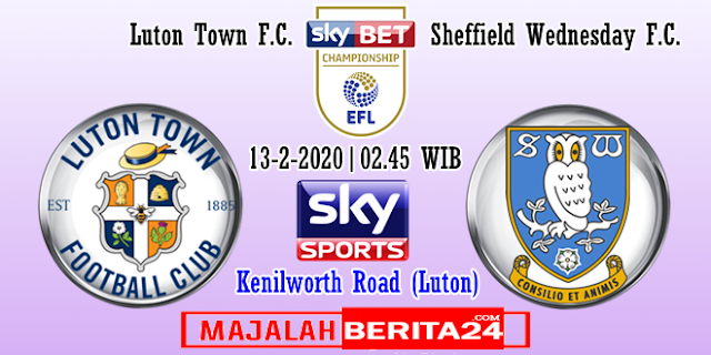 Prediksi  Luton Town vs Sheffield Wednesday