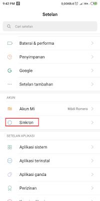 Cara Hapus Akun Gmail di Android