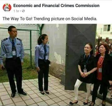 Is EFCC giving Nigerian Government an idea?