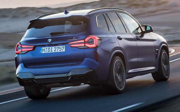 Novo BMW X3 2022: fotos e especificações oficiais