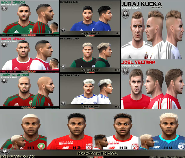Ultigamerz Pes 2010 Pes 2011 Face: Ultigamerz: PES 6 Best Face-Pack 2018 HD