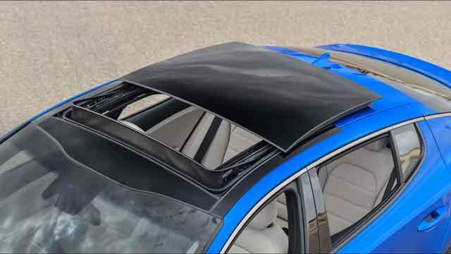 التصميم الخارجي لسيارة كيا ستينجر 2021