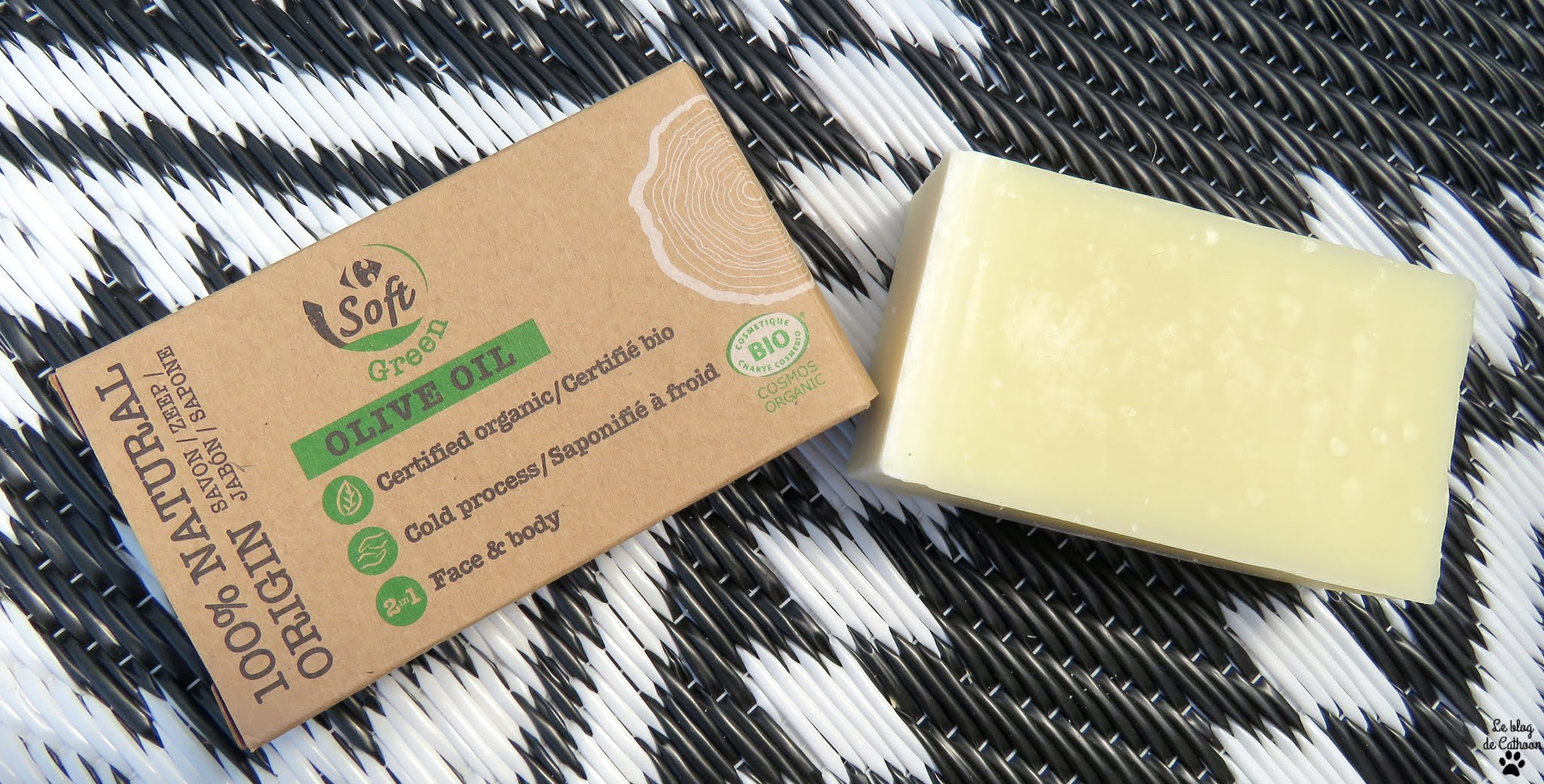 Olive Oil - Savon - Soft Green (Carrefour)