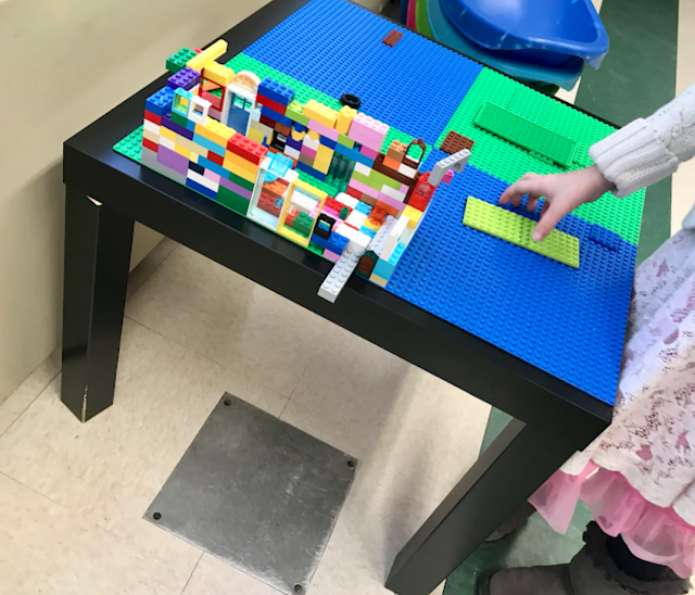 lego table for classroom