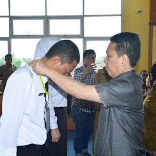 Bupati Batanghari Hadiri Pembukaan Pelatihan Kepemimpinan Pengawas
