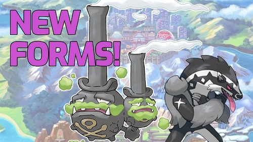 Galarian forms of Pokemon