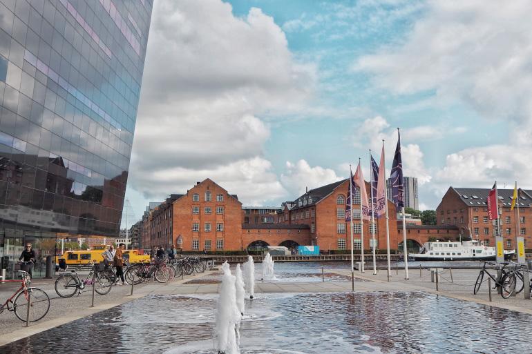 Se promener dans la ville de Copenhague au Danemark