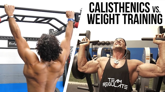 Callisthenics Vs Weights: How To Position Both As Per Trainers?