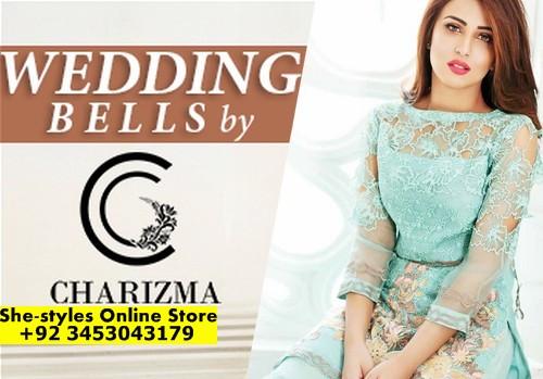 ecd539bc35 Wedding Bells by Charizma Luxury Chiffon Collection 2017-18   She-Styles    Pakistani Designer Dresses - Fashion Weeks - Lawn Collection