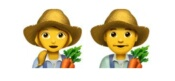 Female/Male Farmer emoji Hindi Meaning