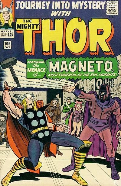 Journey into Mystery #109, Thor v Magneto