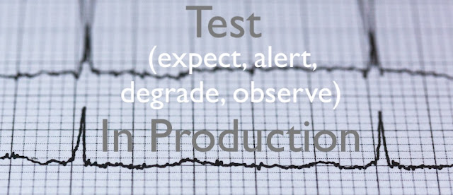 Test (Expect, Alert,  Degrade, Observe) In Production