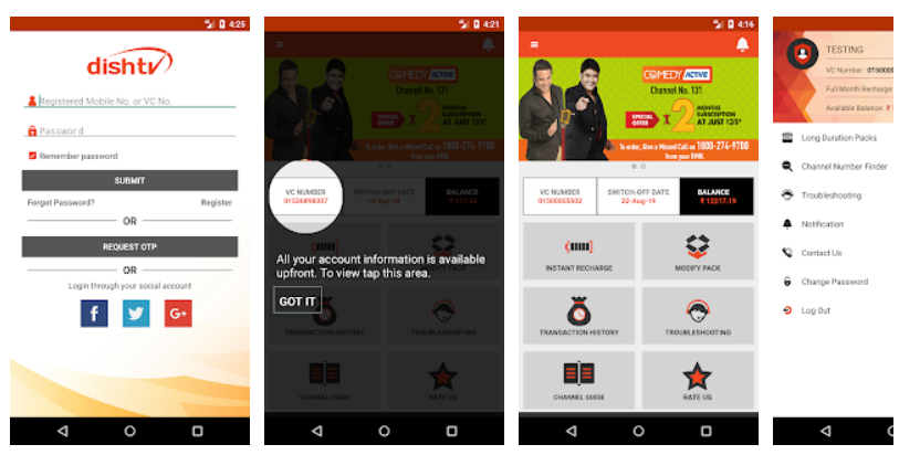 download dish tv mobile application
