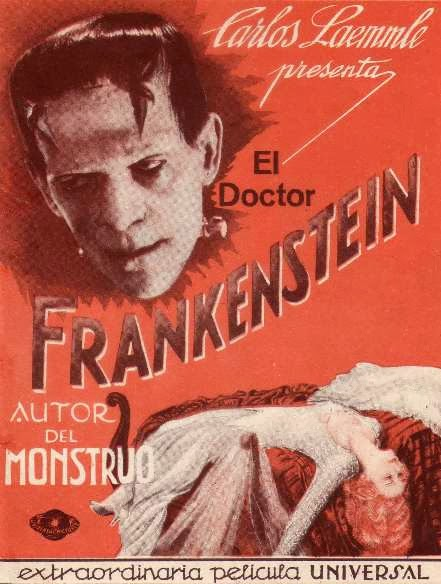 Spanish Posters & Art from Classic Monster Films