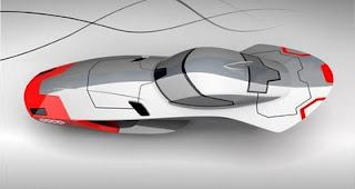 Audi Calamari concept car-'flying' concept car