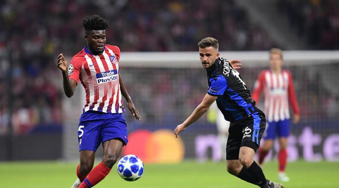 Tinggalkan Atletico Madrid untuk ke Arsenal, Thomas Partey Akan Sia-siakan Kariernya