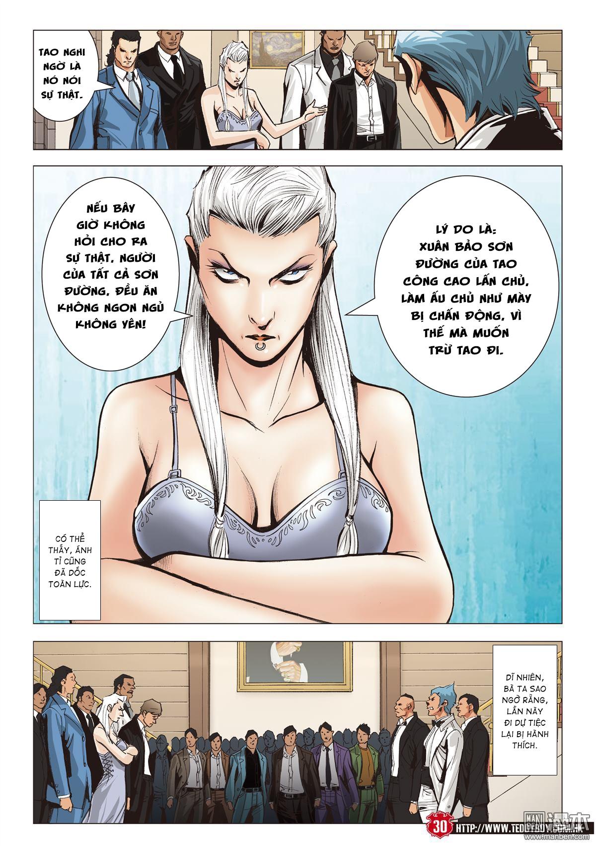 Người Trong Giang Hồ chapter 2067: ánh tỉ làm phản trang 27