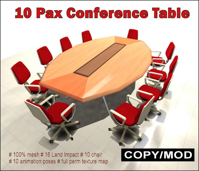 https://marketplace.secondlife.com/p/Conference-Table-set-V30/8783269