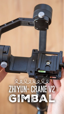 Gear of the Week #GOTW KW 35 | Zhiyun- Crane V2 Gimbal | Zhiyun-Tech Test | Gimbal-Review | Elektronisches-Schwebestativ