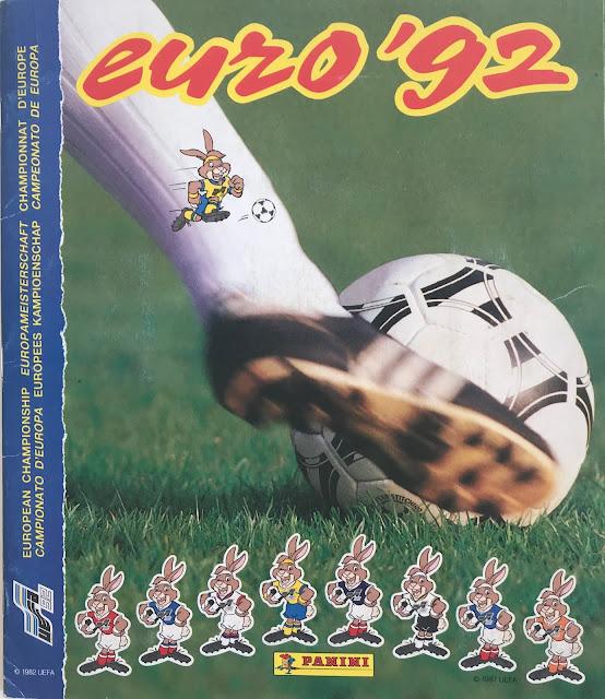 Copertina Album Panini Euro 92
