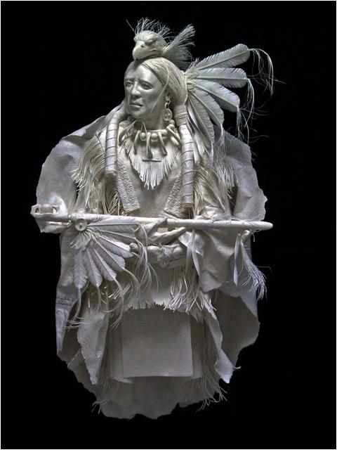 45 Spectacular Paper Sculptures