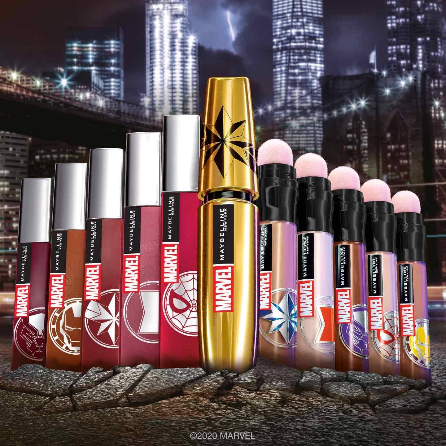 Maybelline x Marvel Makeup Collection