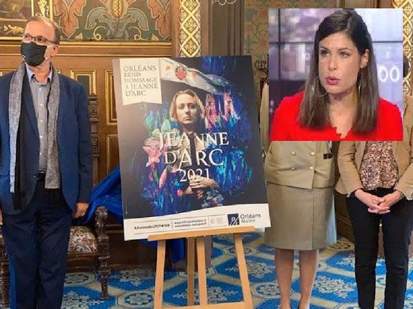 La présence au générique de Charlotte d'Ornellas dérange : France 3 renonce à diffuser un programme sur les fêtes johanniques financé par la ville d'Orléans