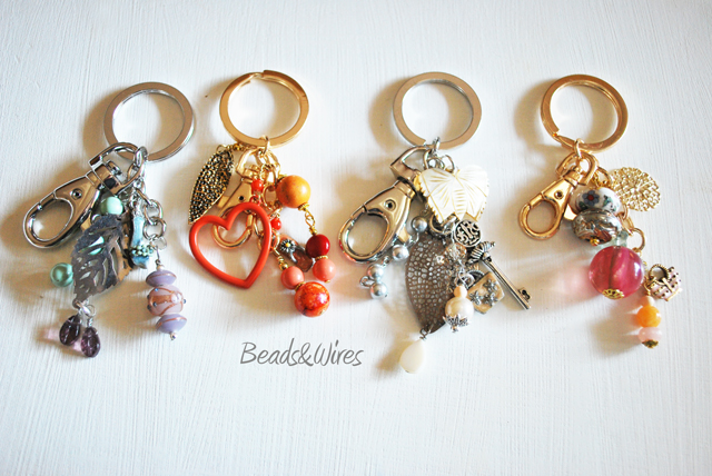 Conosciuto Novità } idee regalo } portachiavi!   Beads and Wires NE36