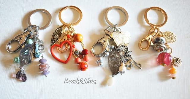 Novit Idee Regalo Portachiavi Beads And Wires