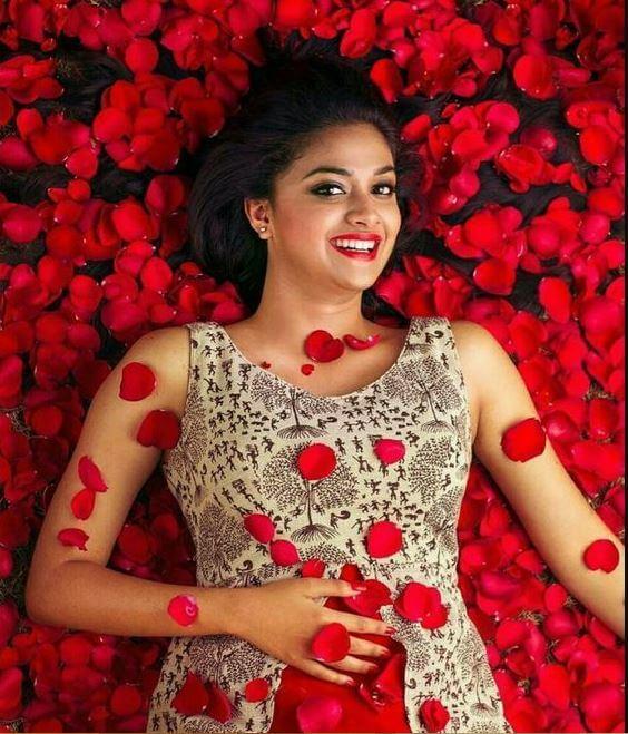 Keerthi Suresh Actress Wallpaper