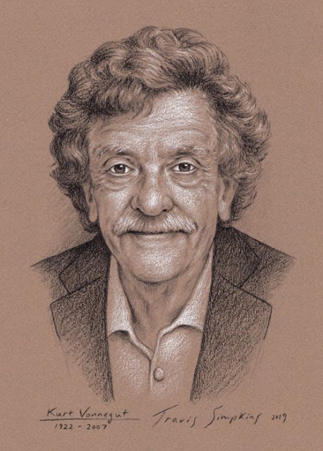 Kurt Vonnegut. American Author. Kurt Vonnegut Museum & Library. by Travis Simpkins