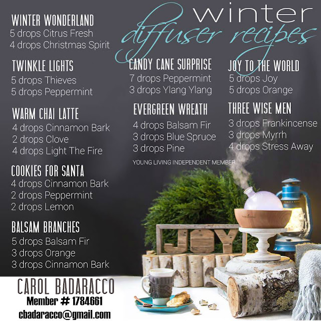 Winter Diffuser Recipes
