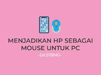 Cara Menjadikan HP Android sebagai Mouse di Windows