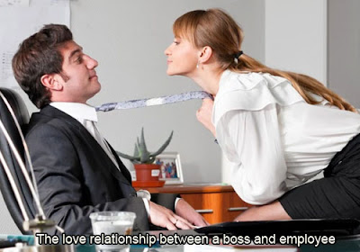 A boss and employee