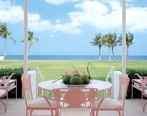 Estee Lauder Palm Beach house
