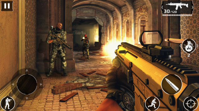 Best FPS Shooting Games for Android apk Free Download Modern Combat 5