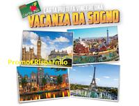 Logo CRAI ''Carta Più ti fa vincere una vacanza da sogno'': 100 buoni spesa da 50€ e 20 weekend in Paesi Europei