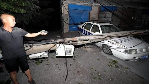 Nagy erejű robbanás történt egy gázüzemben Közép-Kínában, sérültek