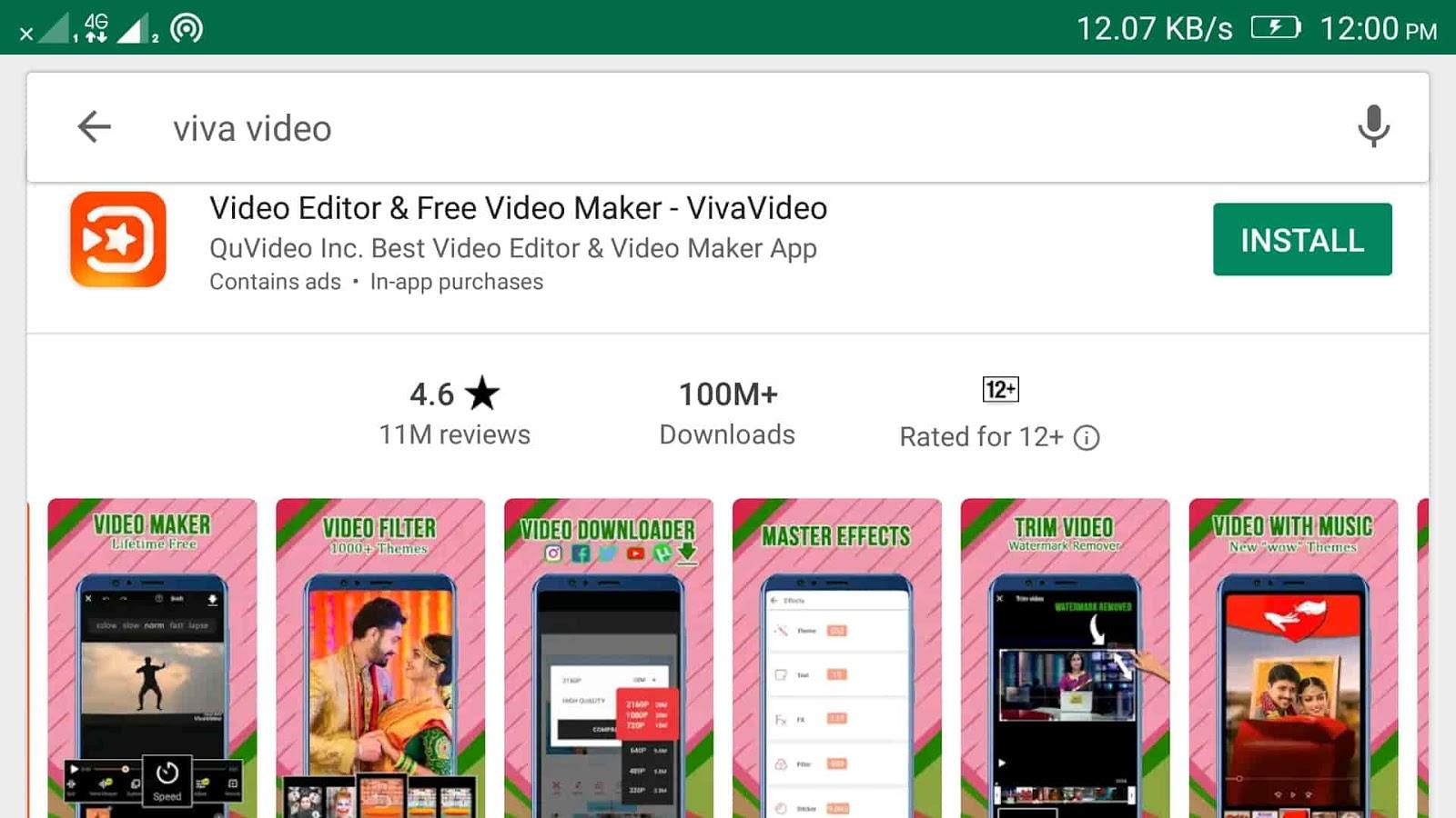 androi video editor vivavideo editor
