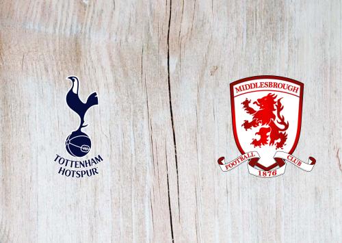Tottenham Hotspur vs Middlesbrough -Highlights 14 January 2020