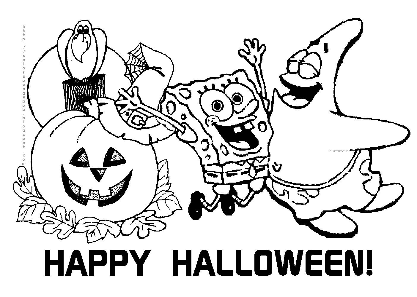 happy halloween pictures to color halloween pictures coloring
