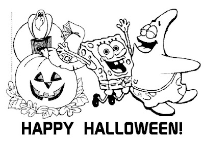 Halloween Pictures Coloring Pages To Print