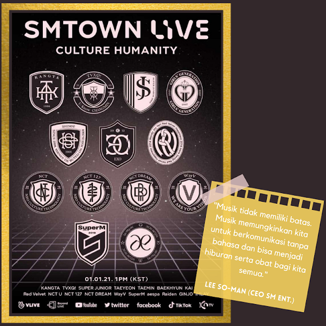 Konser SM Town Live : Culture Humanity