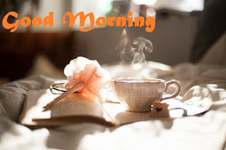 good morning images with tea coffe