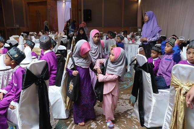 Al-Fateh meraikan anak yatim  di Hotel Concorde Kuala Lumpur