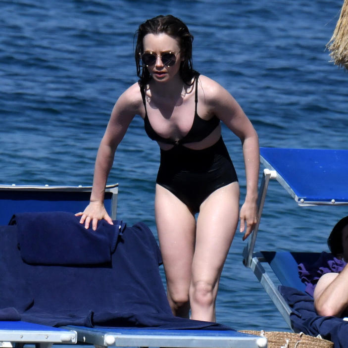 Lily Collins Hottest Photo Gallery