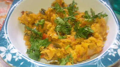 Maharashtrian Style Tasty Zunka Food Recipe
