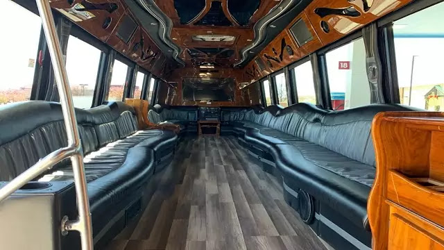 HIRE A PARTY BUS IN DENVER, CO
