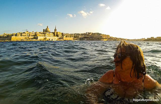 Viajar sozinha para Malta