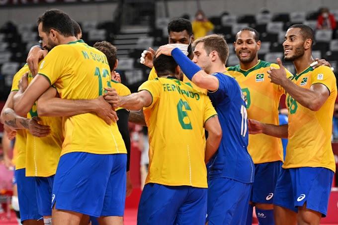 Tokió 2020 - A címvédő brazil röplabdázók legyőzték az amerikaiakat